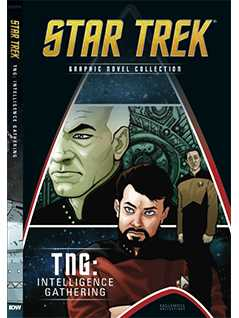 tng: intelligence gathering - Star Trek Graphic Novels