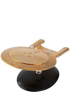 gold plated u.s.s. enterprise ncc-1701-d - Star Trek Starships