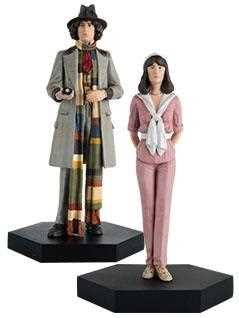 4th doctor & sarah jane companion set - Doctor Who Figurines Collection