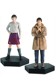 2nd doctor & jamie mccrimmon - Doctor Who Figurines Collection