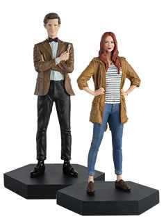11th doctor & amy pond companion set - Doctor Who Figurines Collection