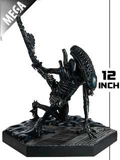 12-inch mega xenomorph warrior - Alien and Predator