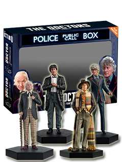 the first 4 doctors set - Doctor Who Figurines Collection