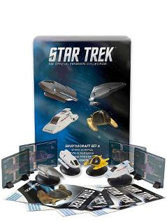 exclusive collector's set of star trek shuttles 6 - Star Trek Starships