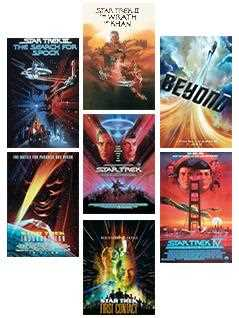 movie poster bundle - Star Trek Graphic Novels