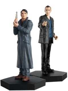 9th doctor & jack harkness companion set - Doctor Who Figurines Collection