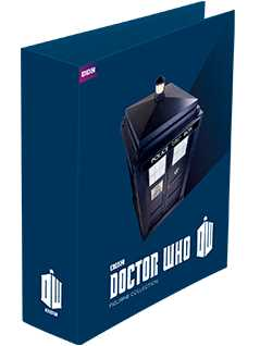 doctor who magazine binder - Doctor Who Figurines Collection