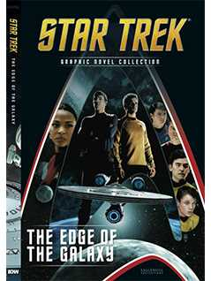 the edge of the galaxy - Star Trek Graphic Novels