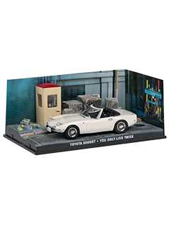 toyota 2000gt (you only live twice) - James Bond Collections