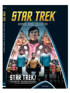 star trek/legion of super-heroes special edition - Star Trek Graphic Novels