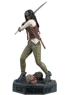 michonne - The Walking Dead Collector's Models