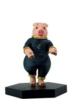 pig pilot - Doctor Who Figurines Collection