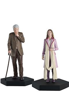 romana and the curator time lords set - Doctor Who Figurines Collection