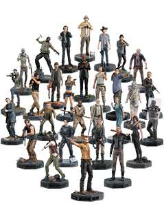 the walking dead complete collection bundle - The Walking Dead Collector's Models