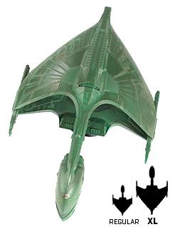 romulan warbird 8.5-inch xl edition - Star Trek Starships