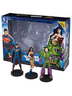 superman, wonder woman & lex luthor special edition box set - DC Comics Masterpiece