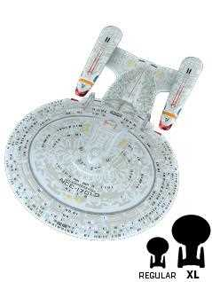 u.s.s. enterprise ncc-1701-d 8.5-inch xl edition - Star Trek Starships
