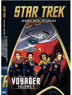 voyager (part 1) - Star Trek Graphic Novels