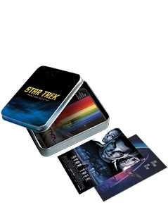 movie posters and collector's tin - Star Trek Graphic Novels