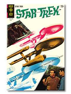 gold key #4 tin plate - Star Trek Graphic Novels