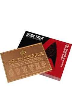 u.s.s. enterprise ncc-1701-e dedication plaque - Star Trek Starships