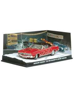 mercury cougar (on her majesty's secret service) - James Bond Collections