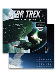 star trek ships of the line 2020 calendar - Star Trek Starships