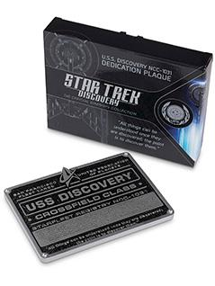 u.s.s. discovery plaque - Star Trek Discovery Starships