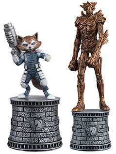 groot & rocket raccoon (hero knights) special edition - Marvel Chess