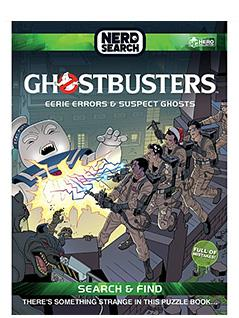 ghostbusters nerd search hardcover book - Ghostbusters Figurine Collection