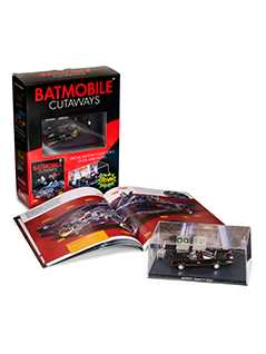 batmobile cutaways: batman classic tv series plus collectible - Batman Automobilia