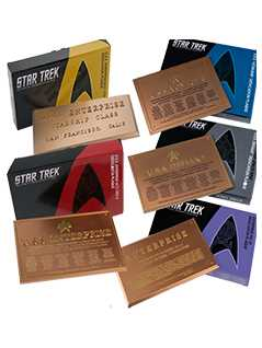 5 plaques bundle - Star Trek Starships