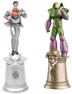 superman & lex luthor (kings) special edition - DC Chess