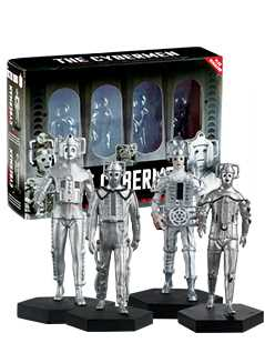 evolution of the cybermen set 1 - Doctor Who Figurines Collection