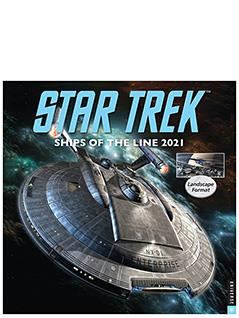 star trek ships of the line 2021 calendar - Star Trek Starships