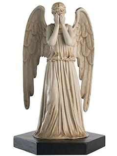 weeping angel (covered face) - Doctor Who Figurines Collection