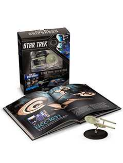 star trek shipyards starfleet starships: 2151-2293 the encyclopedia of starfleet ships plus collectible - Star Trek Starships