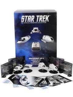 exclusive collector's set of star trek shuttles 5 - Star Trek Starships