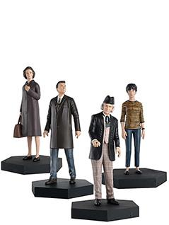 1st doctor & susan, ian and barbara companion set - Doctor Who Figurines Collection