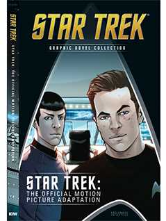 the official motion picture adaptation - Star Trek Graphic Novels