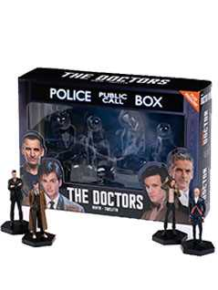4 doctors set - Doctor Who Figurines Collection