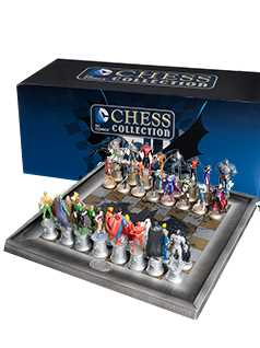32 piece justice league chess set - DC Chess