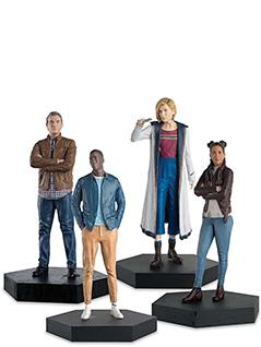 13th doctor & ryan, yaz and graham companion set - Doctor Who Figurines Collection