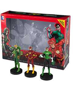 flash, green lantern & green arrow special edition box set - DC Comics Masterpiece