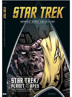 star trek/planet of the apes: the primate directive special edition - Star Trek Graphic Novels