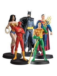 justice league bundle - DC Classic Figurines