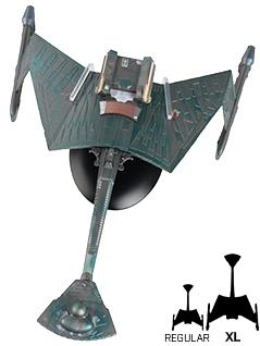 klingon k't'inga-class battle cruiser 8-inch xl edition - Star Trek Starships
