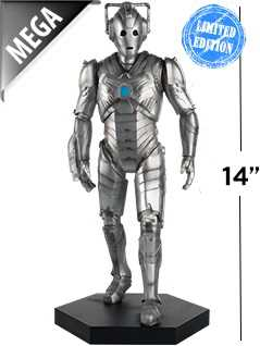 14-inch mega cyberman - Doctor Who Figurines Collection