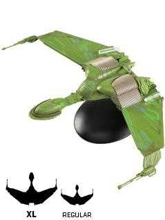 klingon bird-of-prey 9-inch xl edition - Star Trek Starships