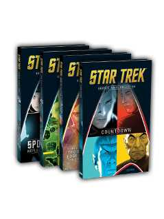 volumes 1-4 bundle - Star Trek Graphic Novels